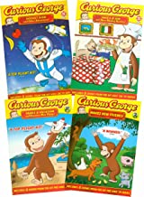 Curious George Collection # 2 (Rocket Ride and Other Adventures! / Takes a Job and More Monkey Business! / Takes a Vacation & Discovers New Things! / Makes New Friends!)