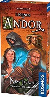Thames & Kosmos 692261 Legends of Andor: New Heroes (Expansion) | Compatible with Part 1 | Cooperative Board Game, 2-6 Pla...