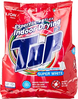 TOP Powder detergent, Super White, 2.5kg