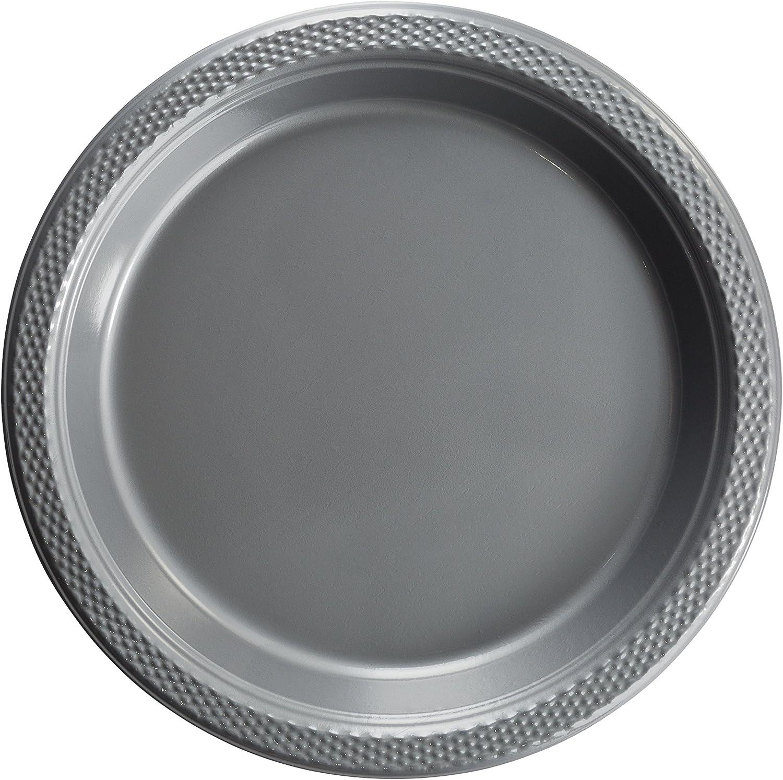 Exquisite Kunststoff Dessert Salat Teller–Farbe Einweg Teller–50Zhlen