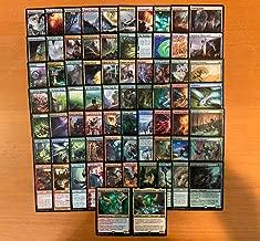 Commander Elemental Deck - EDH - Green Red Blue - Custom Built - Magic The Gathering - MTG - 60 Card