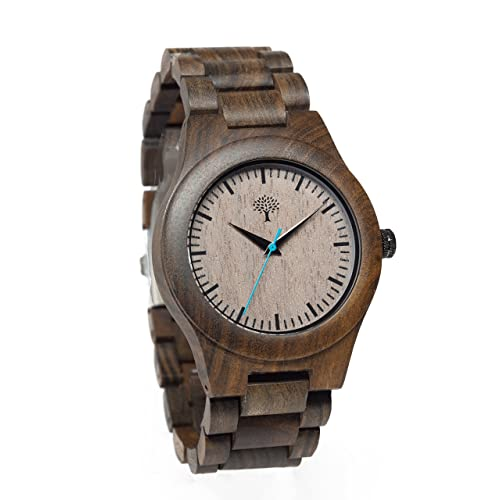 Lux Woods Bendemeer Chanate Wood Watch with Wood Band