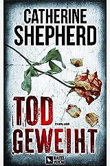 Todgeweiht: Thriller (Zons Thriller 10) (German Edition) Kindle Edition
