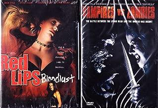 Red Lips Bloodlust Erotic Vampires , Vampires Vs. Zombies Lesbian Vampires : 2 Pack