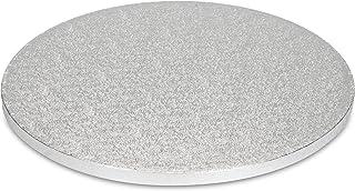 patisse 01861Plaque à gâteau Diamètre 30cm, Aluminium, Argent, 30.0x 30.0x 30.0cm, 3unités