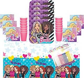Best barbie plates and cups Reviews