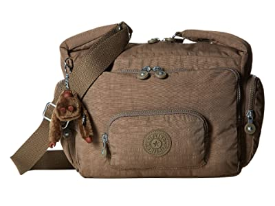 Kipling Erica Cross Body Bag (Soft Earthy Beige) Cross Body Handbags