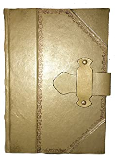 Handcrafted Italian Leather Journal Olive Green Fiorentina