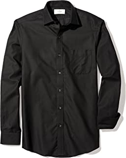 Amazon Brand - BUTTONED DOWN Men's Classic Fit Spread-Collar Supima Cotton Dress Casual Shirt