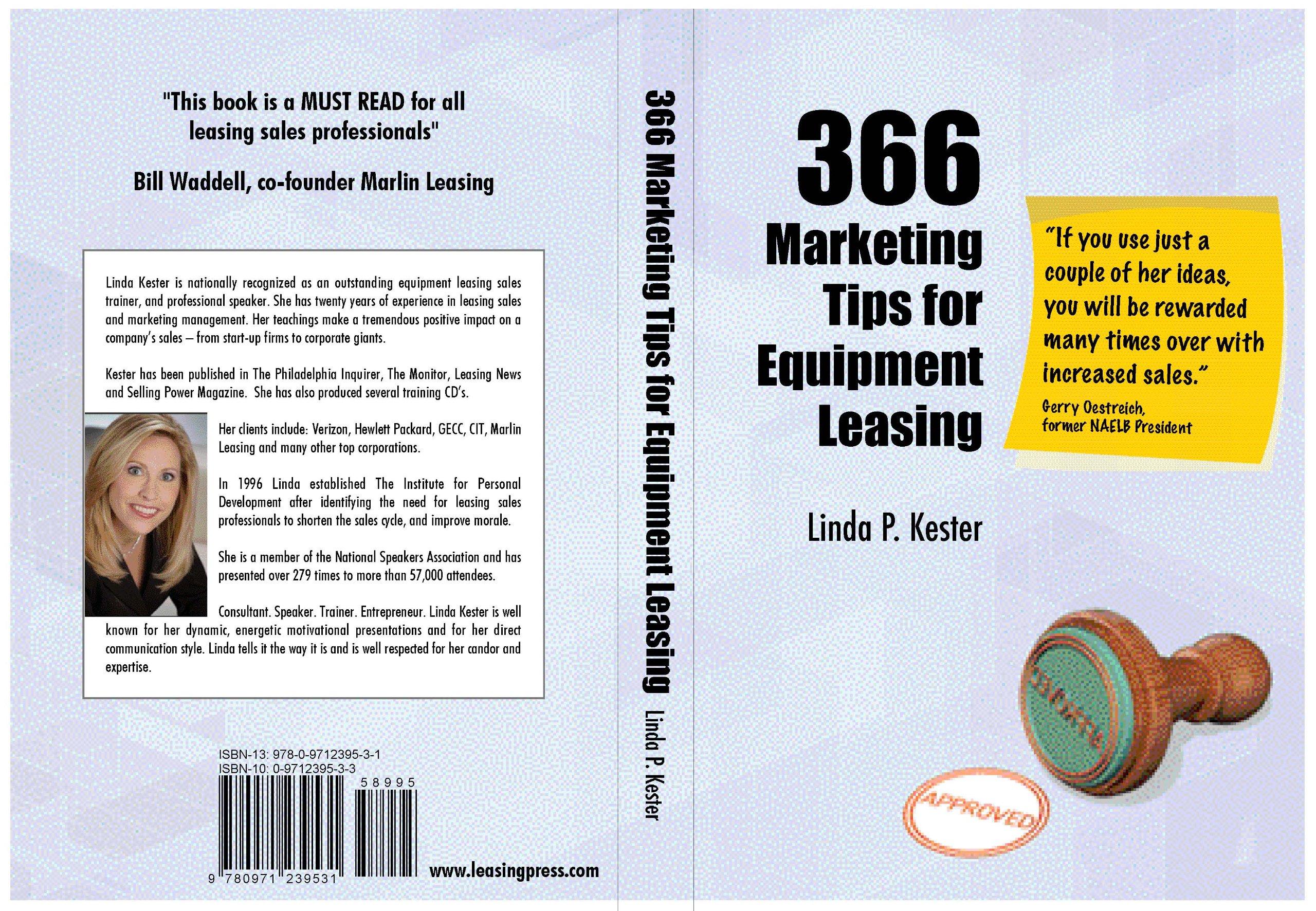366 Marketing Tips for Equipment Leasing