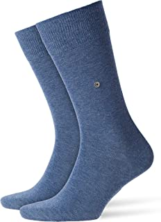 Burlington, Lord Calcetines, Azul (Light Jeans 6662), 40/46 (Talla del fabricante: 40-46) para Hombre