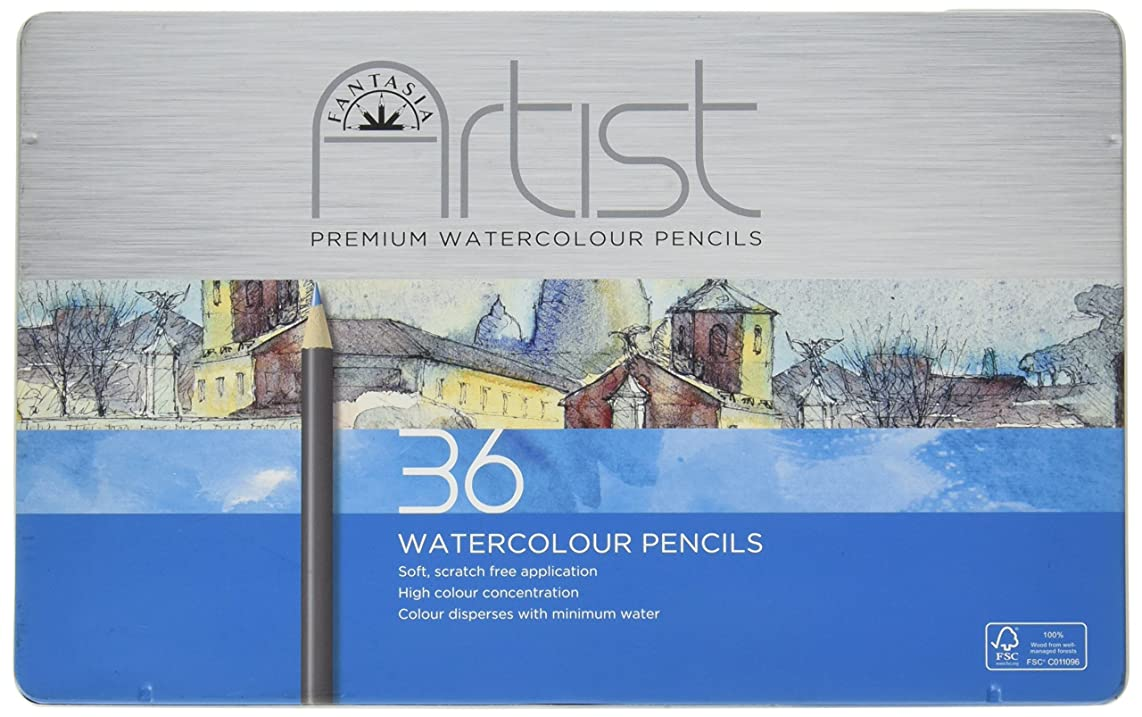 Fantasia Premium Watercolor Pencil Set 36pc-