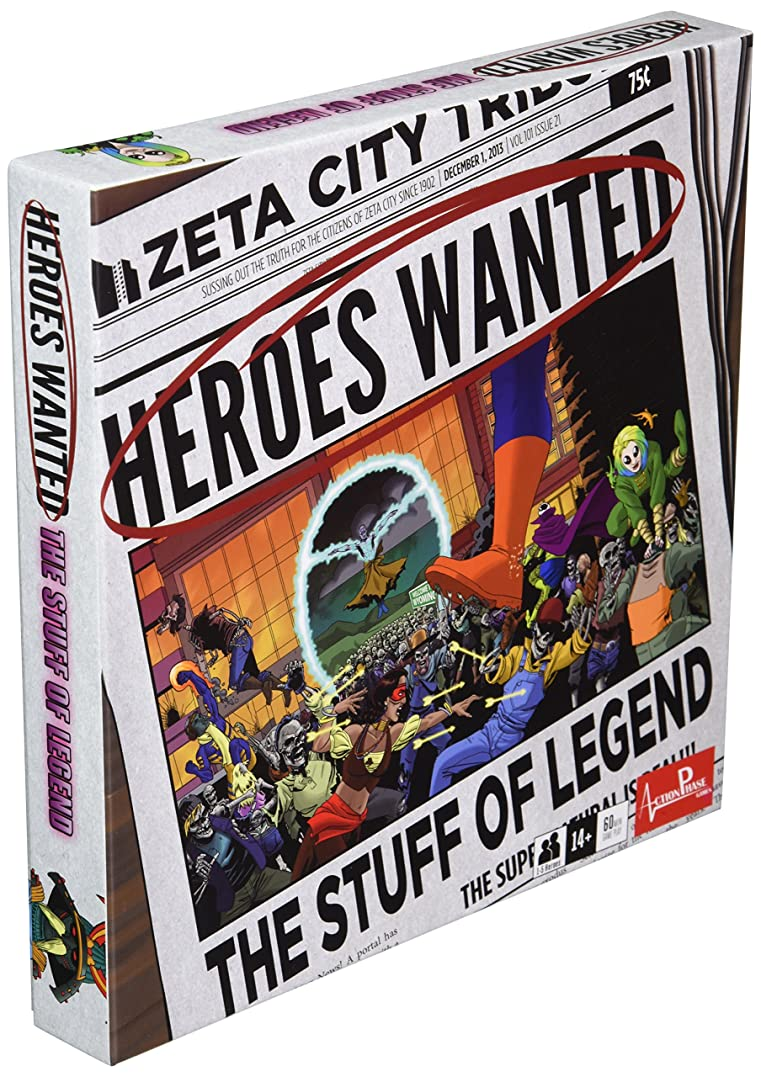 関係するラボ作物Heroes Wanted Stuff of Legend Board Game
