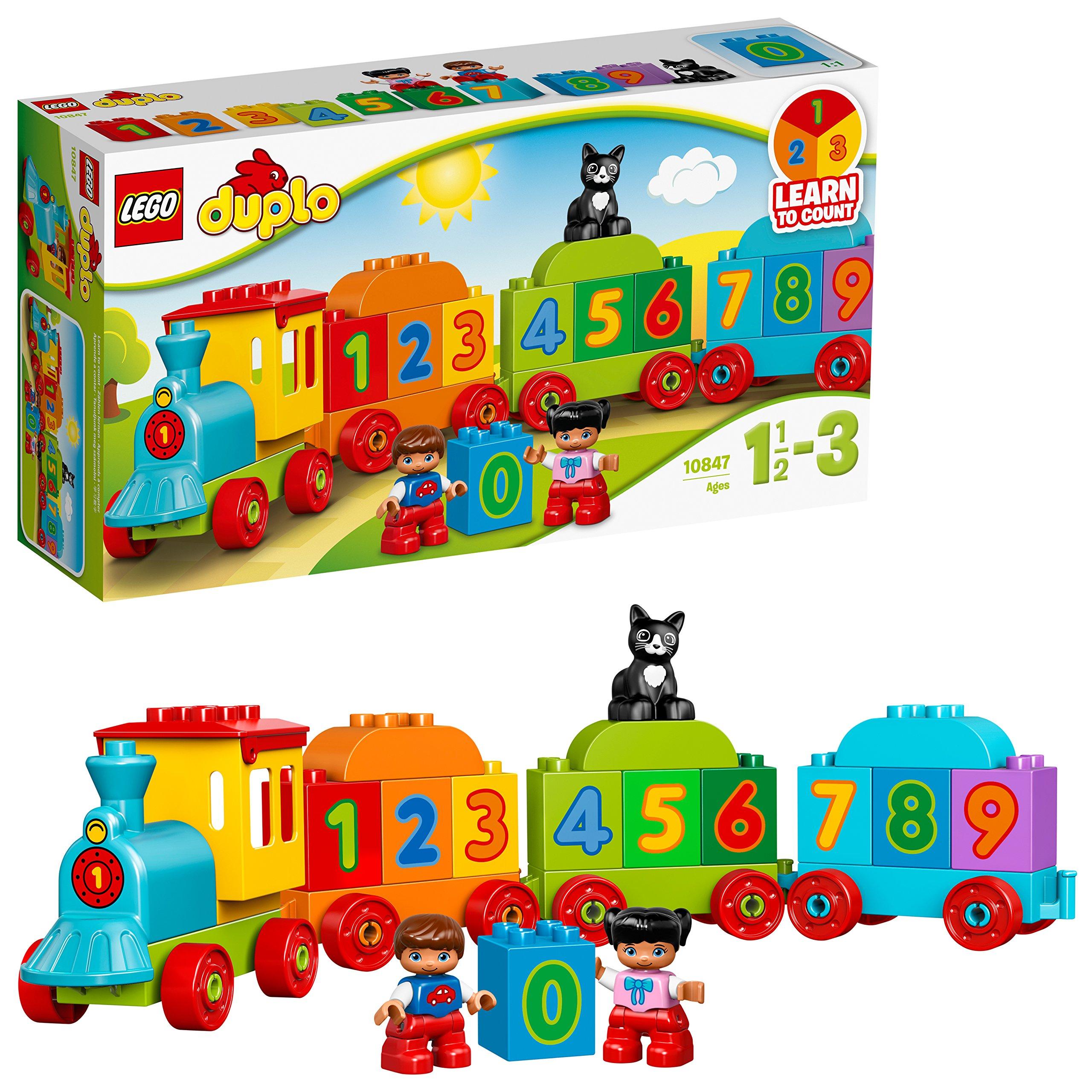 LEGO LEGOつづり玩具DUPLO Duploシリーズデジタル電車10847 11⁄2〜3歳児(23枚)