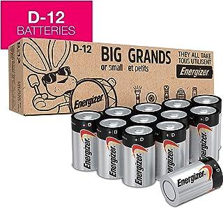 Energizer Max Alkaline D Batteries, 12 Count