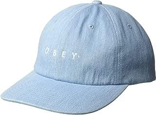 Obey Men's Intention 6 Panel Snapback Hat