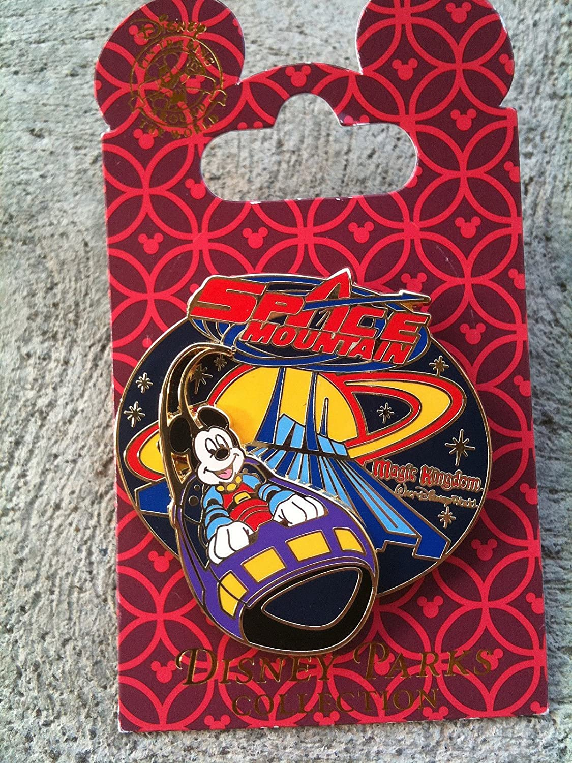 Disney Pin #47822: WDW - Topics on TV Rocket Space Opening large release sale Mickey Ship Mountain
