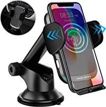 Updated 2019 Version Wireless Car Charger, 10W Qi Fast Charging Auto-Clamping Car Mount, Dashboard Air Vent Phone Holder for iPhone 11/11 Pro/11 Pro MAX/Xs MAX/XS/XR/X/8/8+, Samsung Galaxy Note10