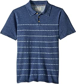 Lucky Brand Kids - Short Sleeve Print Polo (Big Kids)