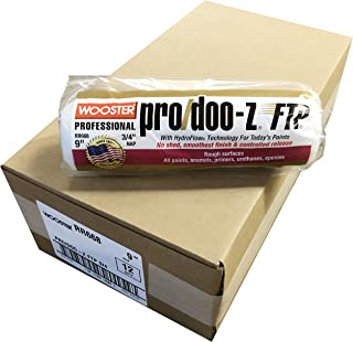 Wooster Brush RR668 9 inch Pro Doo Z FTP 3/4 inch Nap Roller Cover - Pack of 12