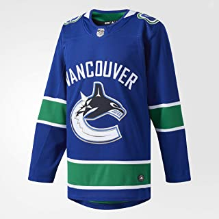 adidas Vancouver Canucks NHL Men`s Climalite Authentic Team Hockey Jersey