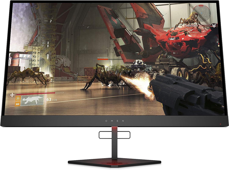 "Omen X 27"" 240 Hz 1ms Gaming Monitor, QHD 2560 x 1440p, AMD Radeon FreeSync 2 HDR, HDR, DCI P3, (6FN07AA)"
