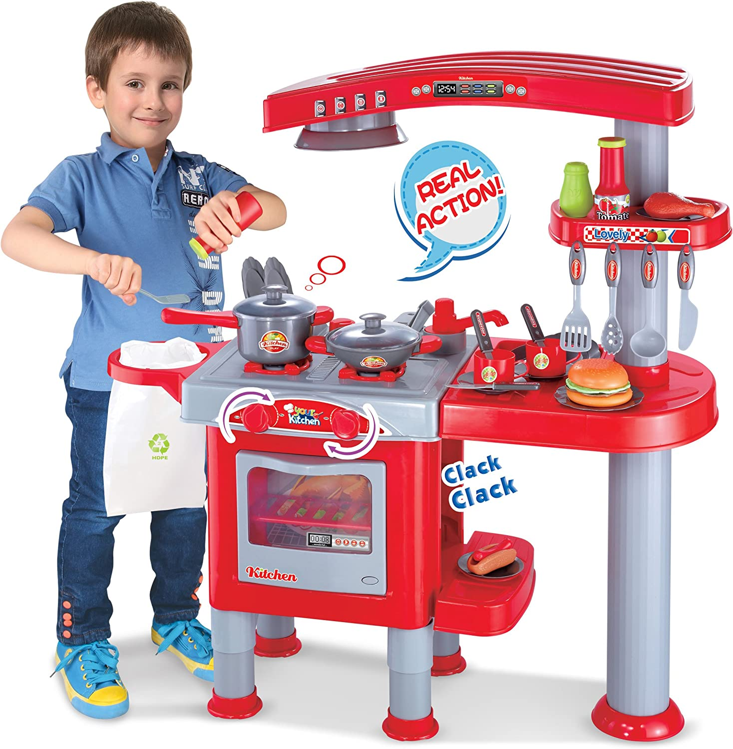 Berry Toys My First Play Kitchen, Red