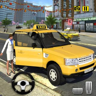 Crazy Taxi Driving Simulator 2018: NY City Cab Taxi Driver Games