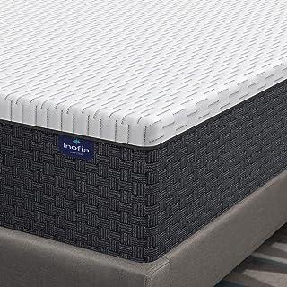 Queen Mattress 12 Inch, Inofia Ergonomic Resilience Foam Mattress in a Box, Breathable Memory Foam Double Mattress for Pre...
