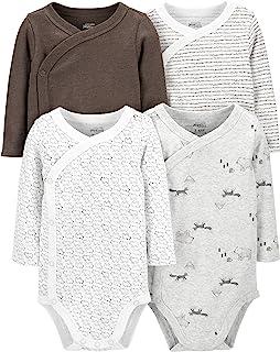 Baby 4-Pack Side Snap Bodysuit