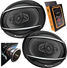$65 » Pioneer TS-A6977S A-Series 6″ x 9″ 4-Way 650 Watts Car Audio Speaker (100W RMS) with Gravity Magnet Phone Holder PK2 Bundle