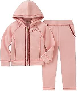 JUICY Couture 女童2件运动套 粉色 7