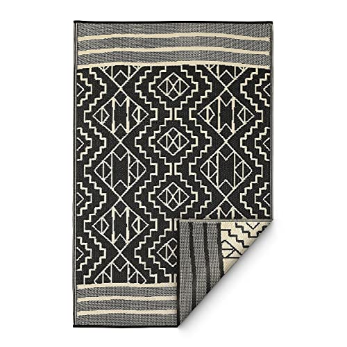 Black And White Outdoor Rug Amazoncom