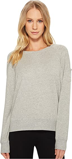 French Terry Long Sleeve Raglan Top