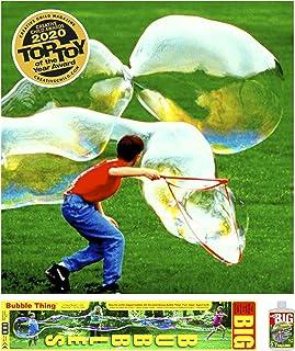 BUBBLE THING Big Bubbles Wand | The Original Giant Bubble Maker | Includes Big Bubble Mix for 2.7 Gallons Best Bubble Solu...
