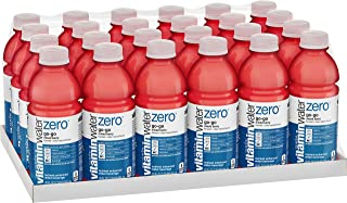 vitaminwater zero go-go, electrolyte enhanced water w/ vitamins, mixed berry drinks, 20 fl oz, 24 Pack
