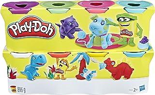 Play-Doh- Pack de 8 Botes, (Hasbro C3899EU4)