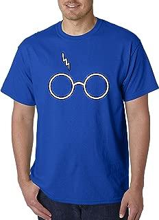836 - Unisex T-Shirt Harry Potter Glasses Scar Lightning Bolt