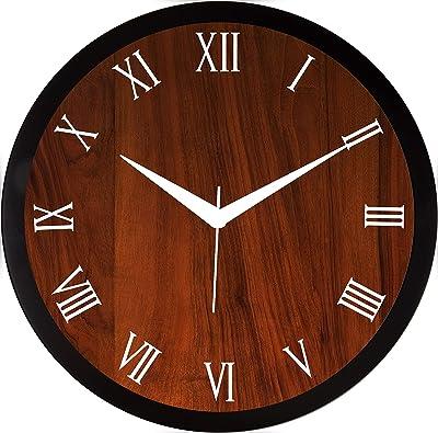 RAG28 Round 11.75 Inch Designer Wall Clock (9176)