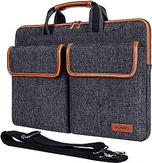 MCHENG 15-15,6 Zoll Wasserdicht Laptoptasche Schultertasche Multifunktion Laptophülle mit Verstellbarer Schultergurt und u...