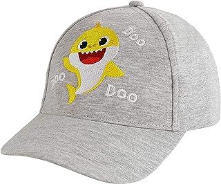 قبعة بيسبول للأطفال من نيكيلوديون للأولاد من سن 2-4 قبعة بيبي شارك بتصميم ثلاثي الأبعاد، أصفر
