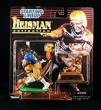 TONY DORSETT / UNIVERSITY OF PITTSBURGH PANTHERS 1997 NCAA College Football HEISMAN COLLECTION Starting Lineup Action Figure, Football Helmet & Miniature 1976 Heisman Memorial Trophy