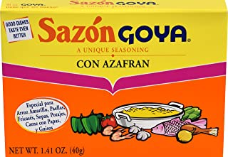 Goya Foods Sazón Seasoning With Azafran, 1.41 Oz Box