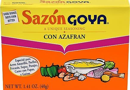 Goya Sazon Goya with Azafran 1.41oz (1 Pack)