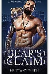 Bear's Claim (A Paranormal Night Club Book 5) Kindle Edition