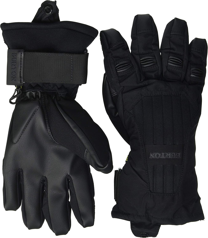 Burton Support Glove Snowboard Ski Gloves Courier shipping free True Black Max 68% OFF XL Rem Size