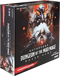 Dungeons & Dragons Waterdeep: Dungeon of The Mad Mage Adventure System Board Game (Standard Edition)