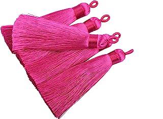 large tassel tassel supplier quality tassel 1 or 3 or 10 units pack jewelry design jewelry making tassels TS0132 pink tassel