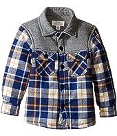 Pumpkin Patch Kids - Spliced Check Shirt Jacket (Infant/Toddler/Little Kids/Big Kids)