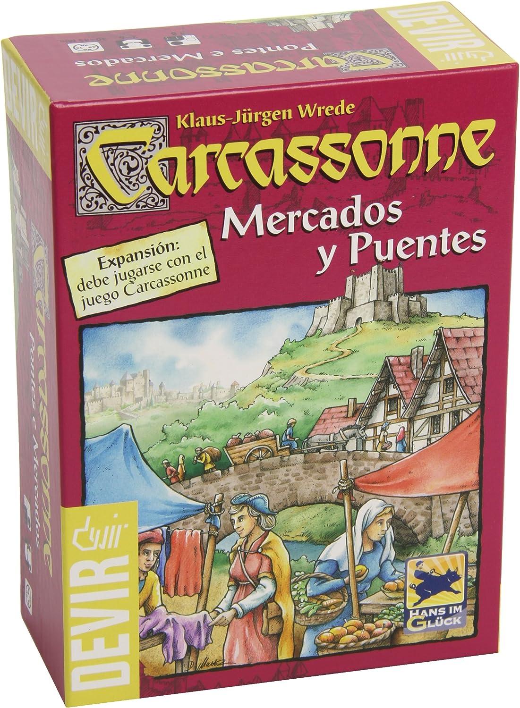 Devir- Carcassonne Mercados y Puentes (BGCAMPU)